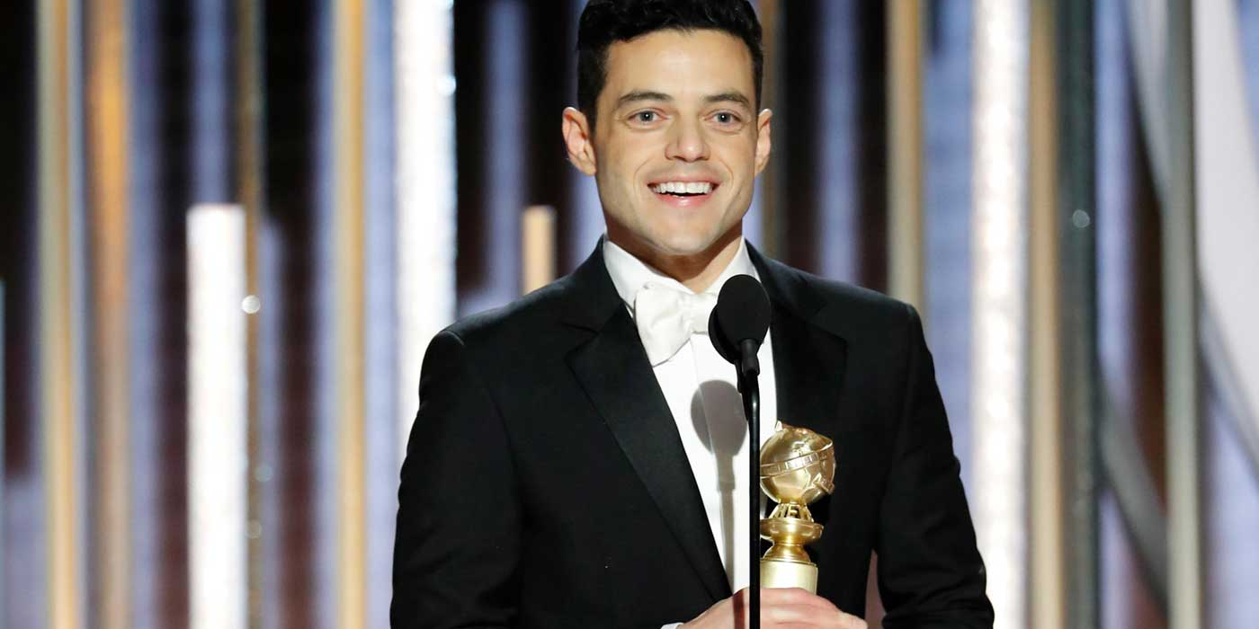 Rami Malek is living the real life, not just fantasy