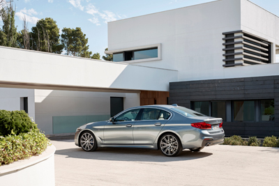 The all new BMW 5 Series Sedan