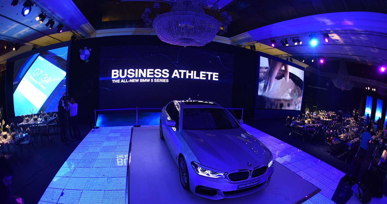 The 7th Generation of BMW 5 Series is launched in Egypt with Iconic Celebration!
