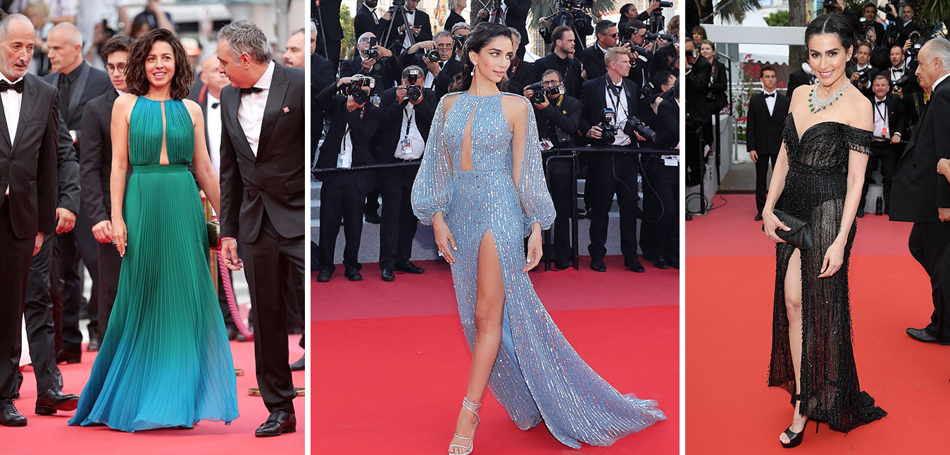 Arab stars shine on the Red Carpet in Cannes 2018