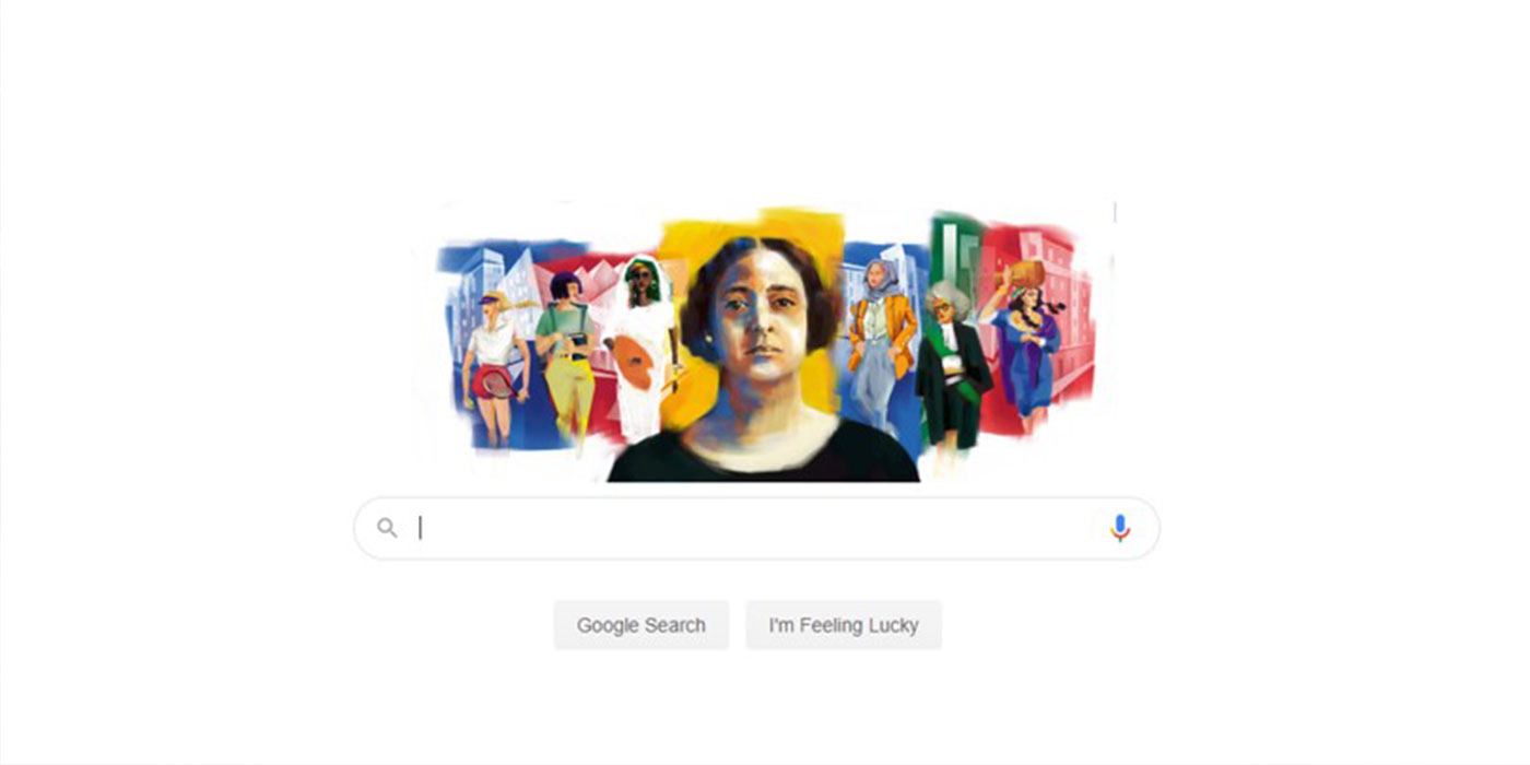 Google Doodle Pays Tribute to Huda Shaarawi on her 141st Birthday