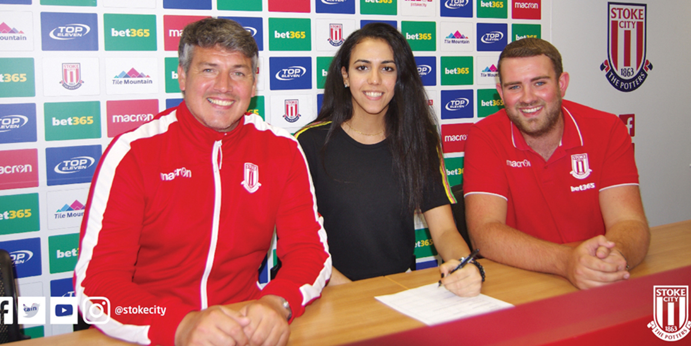 Meet Sarah Essam the First Egyptian Female Playing in the Premier League... She Scored Stoke City Golden Boot