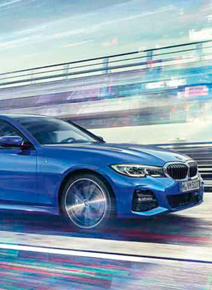 The All-New BMW 3 Series, the ultimate sport sedan.