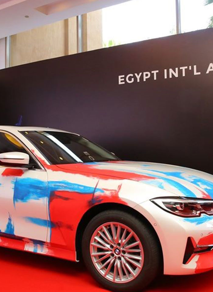 BMW Egypt Partners with Egypt International Art Fair