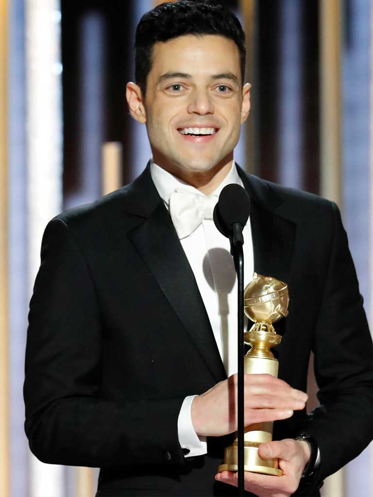 Rami Malek is living the real life
