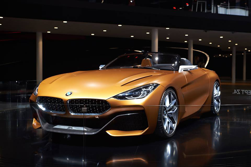 The BMW Concept Z4 at IAA 2017
